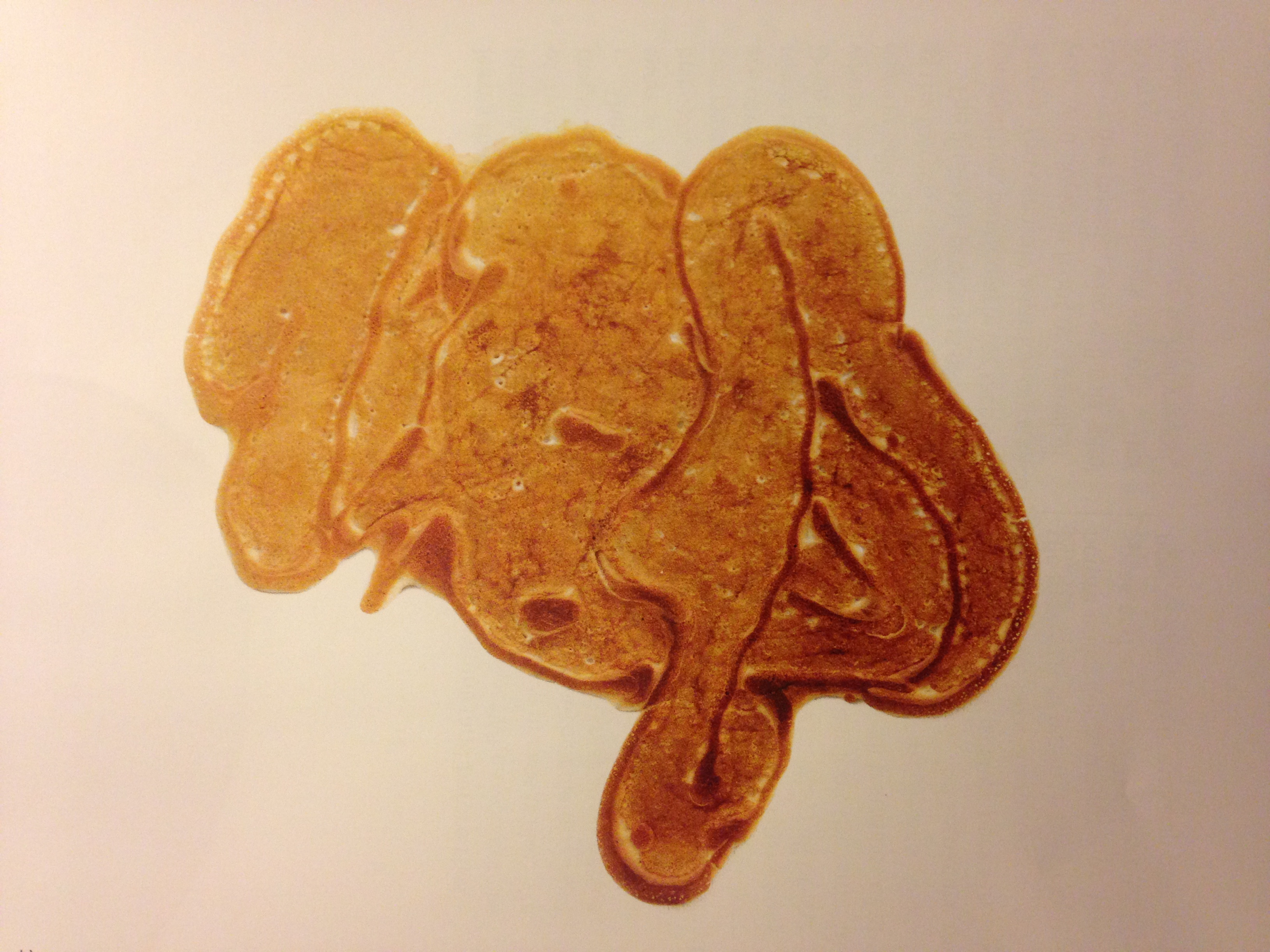 Excellent work on the pancakes, LP.