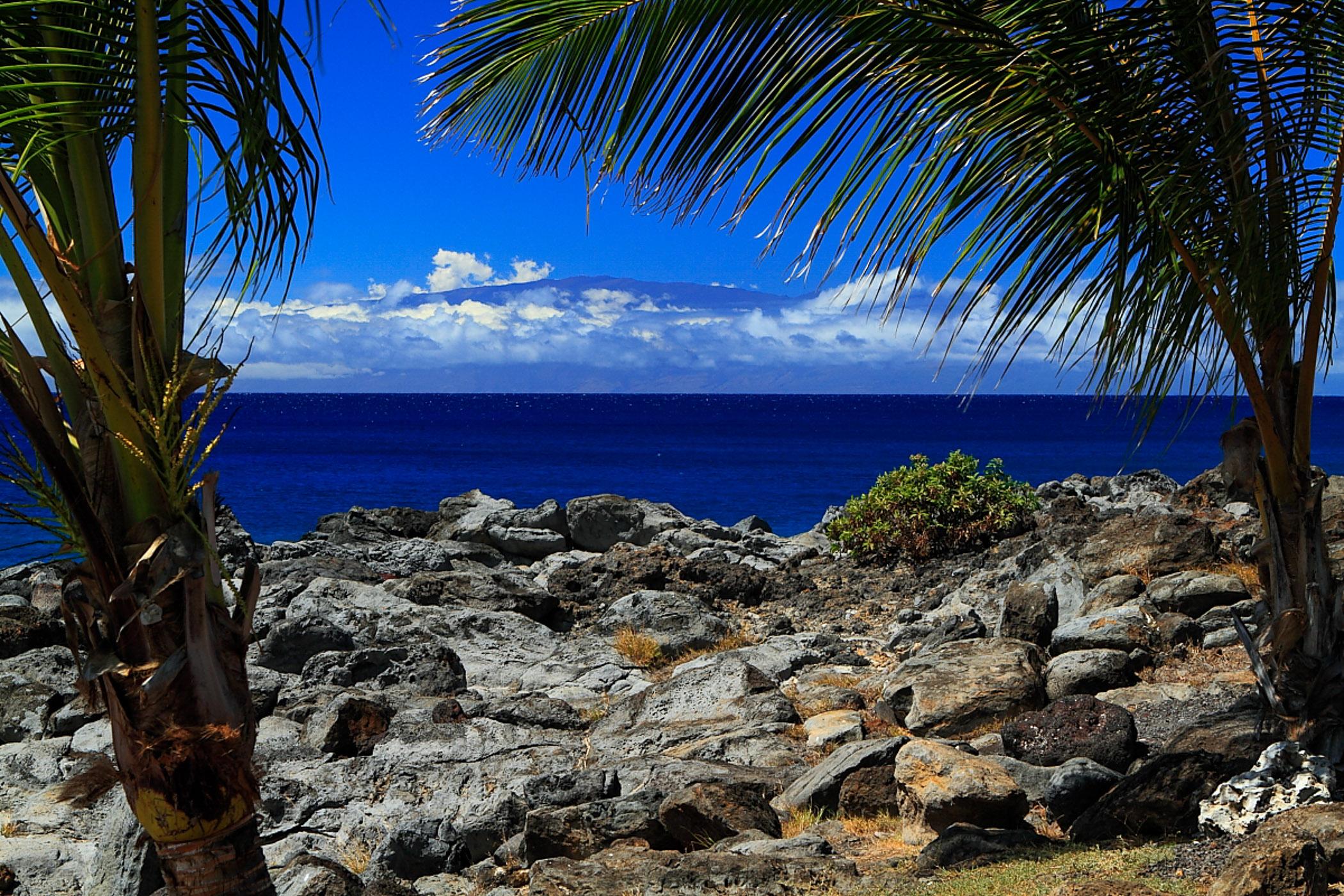 Maui From The Big Island