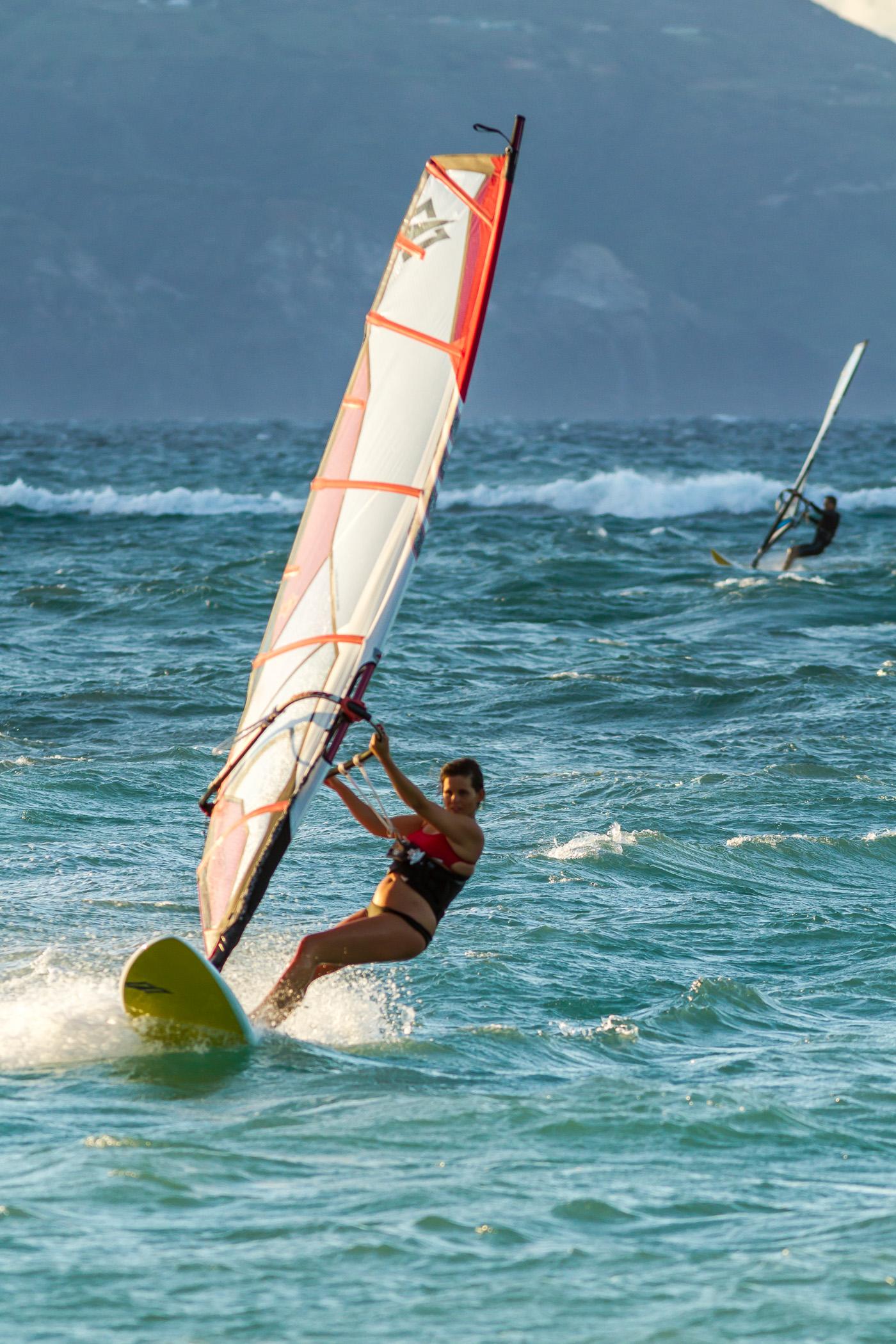 Windsurfer On Maui
