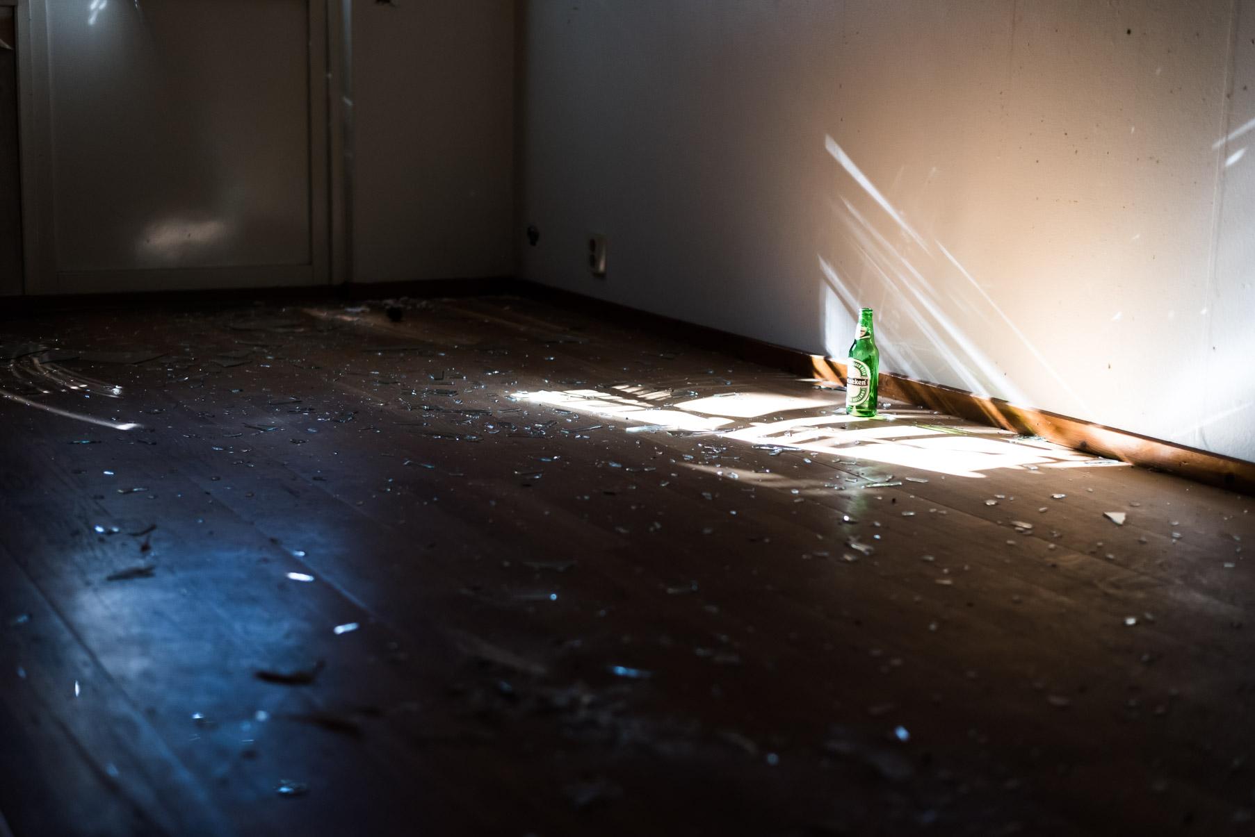 När ljuset började komma in lägenheterna så blev det grymma bilder