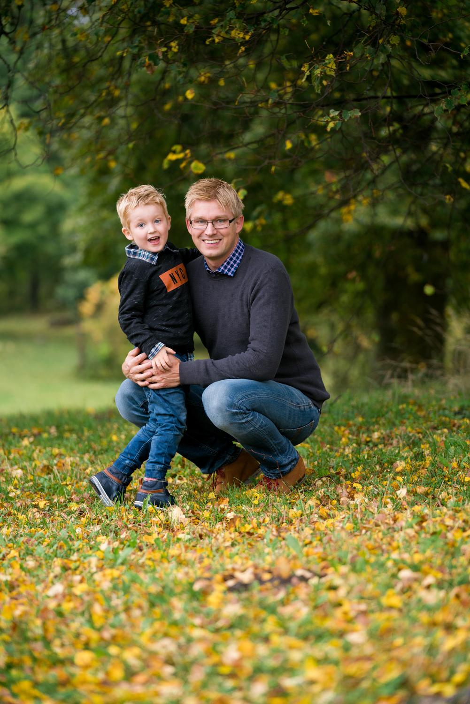 foto pappa och son