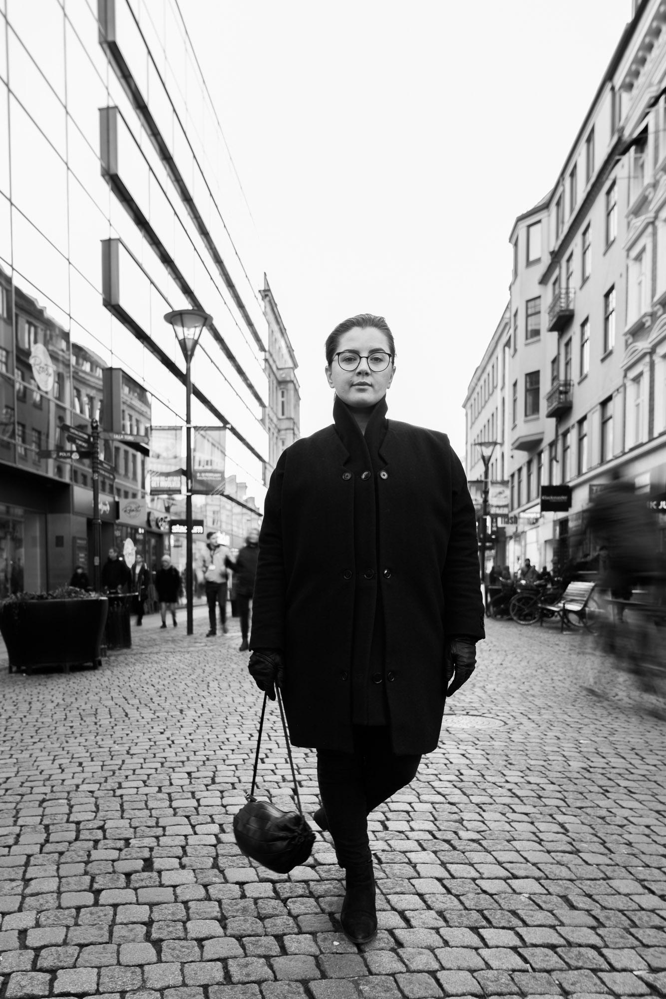 Porträtt i Malmö