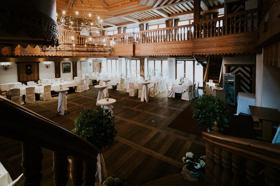 Festsaal im Hotel Rössle