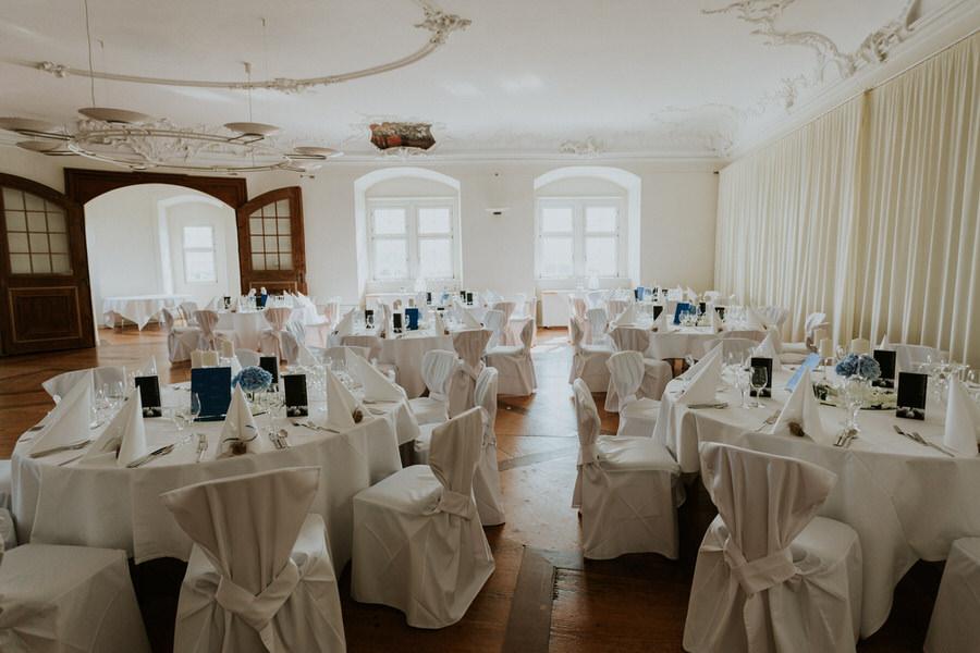 Hochzeit im Fürstersaal am Schloss Kapfenburg
