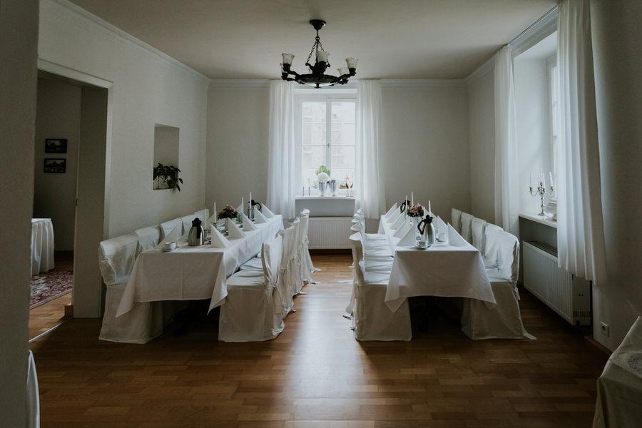 Alter Raum am Schloss Fachsenfeld