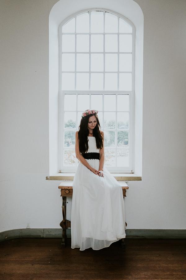 Braut im Schloss Hohenstadt mit der Hochzeitsfotografin Anastasia Vyatkina
