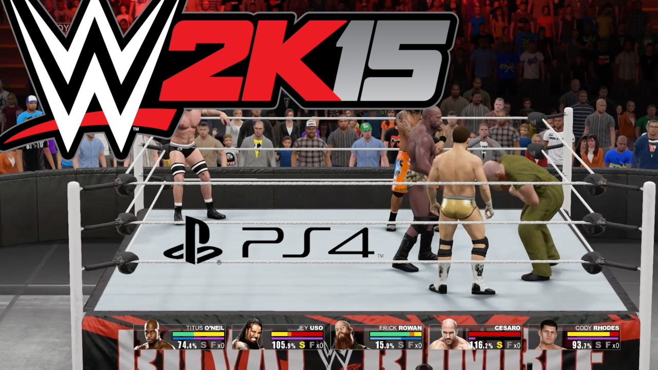 WWE 2K15 GAMEPLAY PS4 - Royal Rumble - Big Show