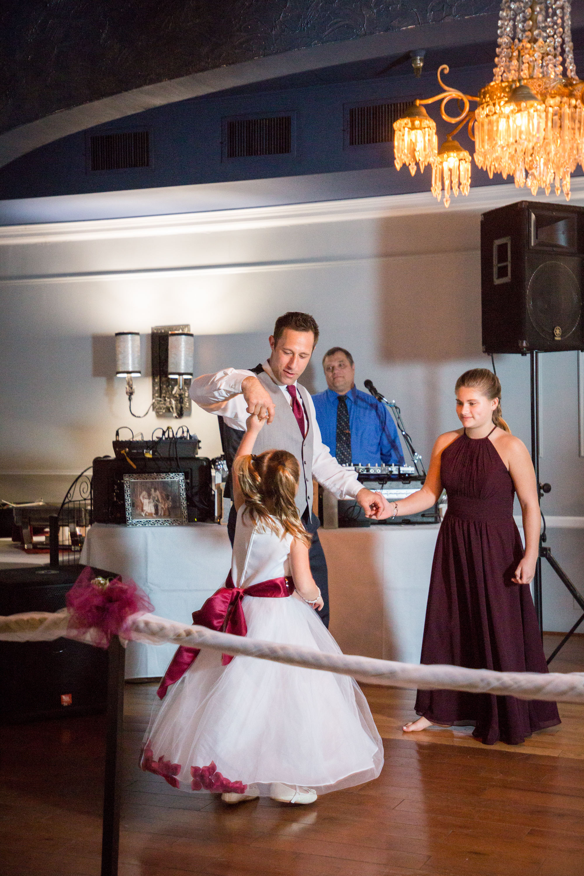 Jenna and Bill and their families and friends dance the night away at Ocean 13 wedding venue in Ocean City.