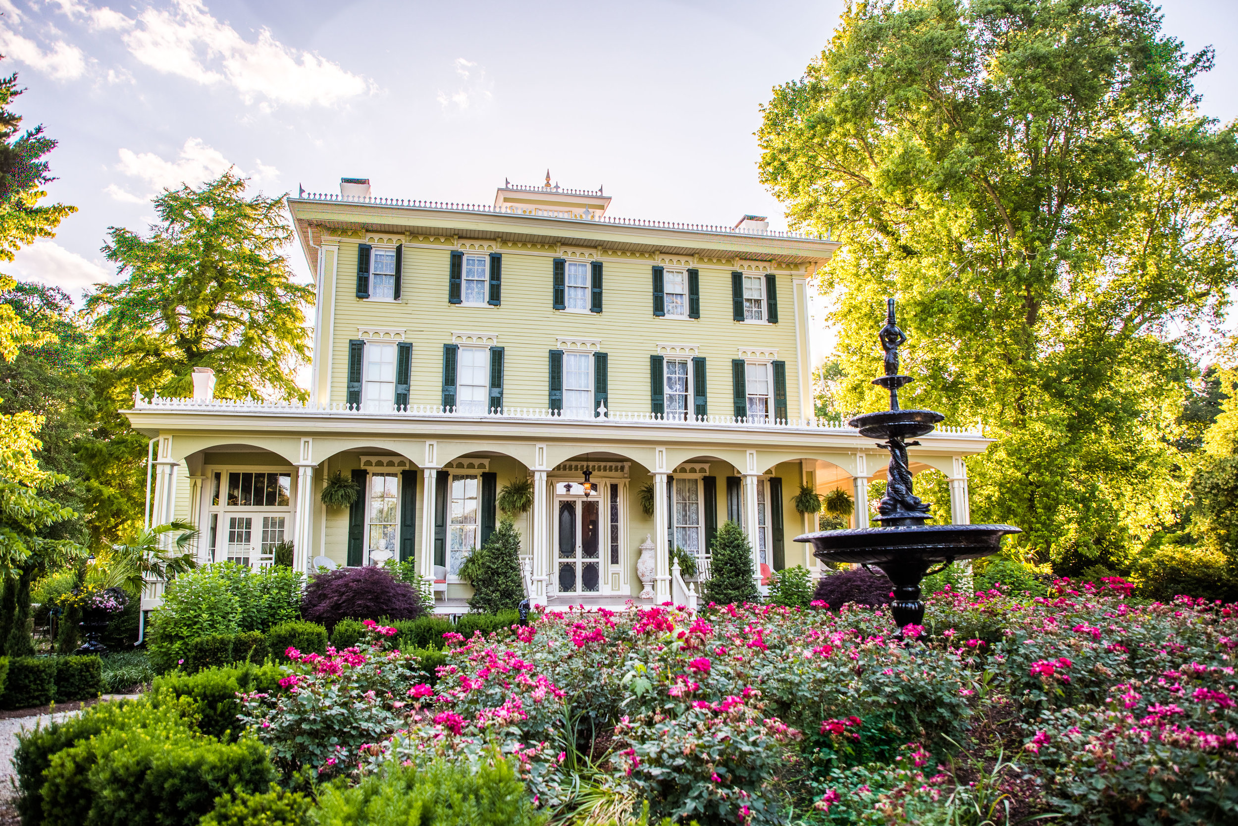 Historic Merry Sherwood Plantation is now Berlin Maryland's newest wedding venues.