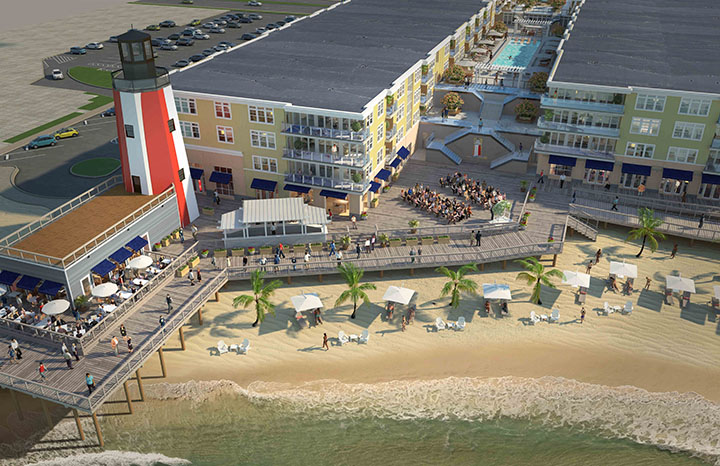 Set to be complete fall of 2019, Lighthouse Cove in Dewey Beach is going to be a spectacular wedding and event venue near Ocean City.
