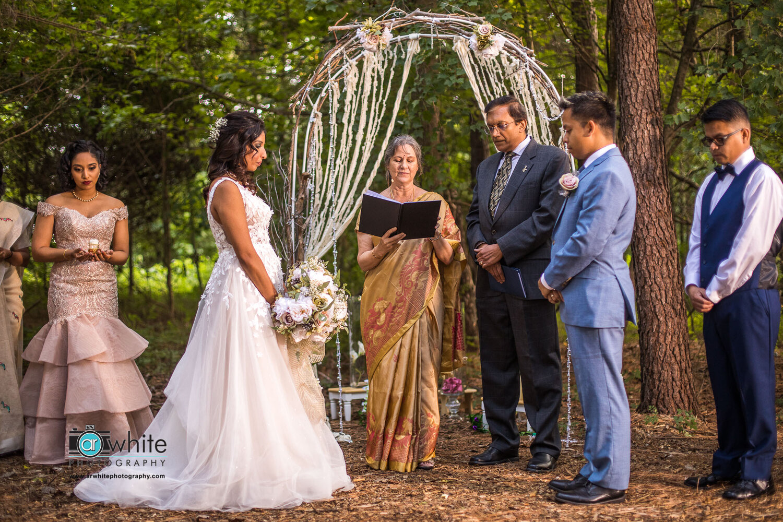 Indian wedding at Kylan Barn in Delmar De.