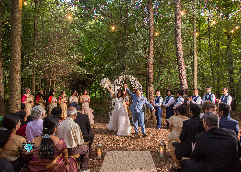 Wedding at Kylan Barn on Delware's eastern shore.