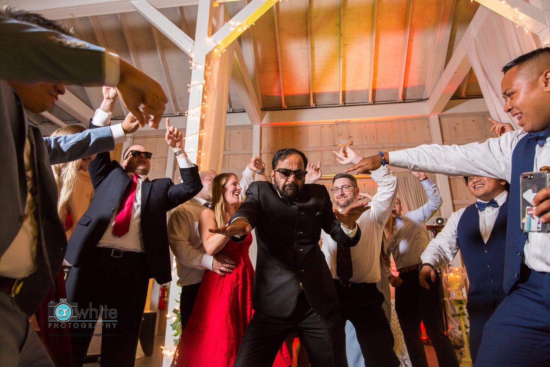 Wedding reception at Kylan Barn