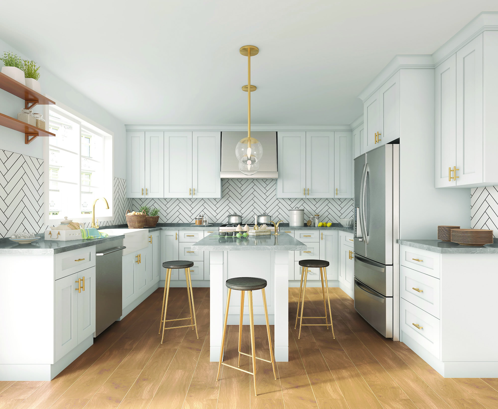 Kitchen Cabinets Tampa Shaker Kitchen Cabinets — UR Cabinets: Tampa Bay's Custom Cabi