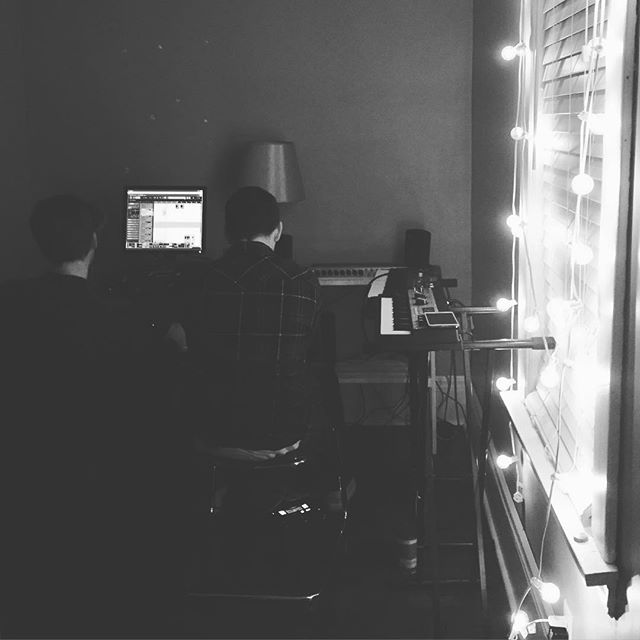 Sweet setup, we know. New music coming soon. . . #🎙