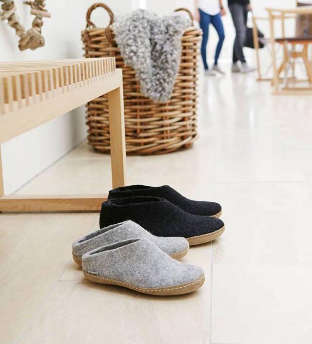 Glerups cozy Danish slippers