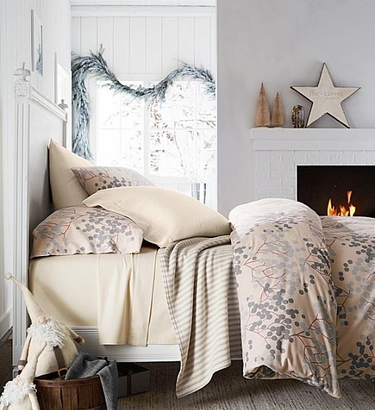 Garnet Hill flannel sheets