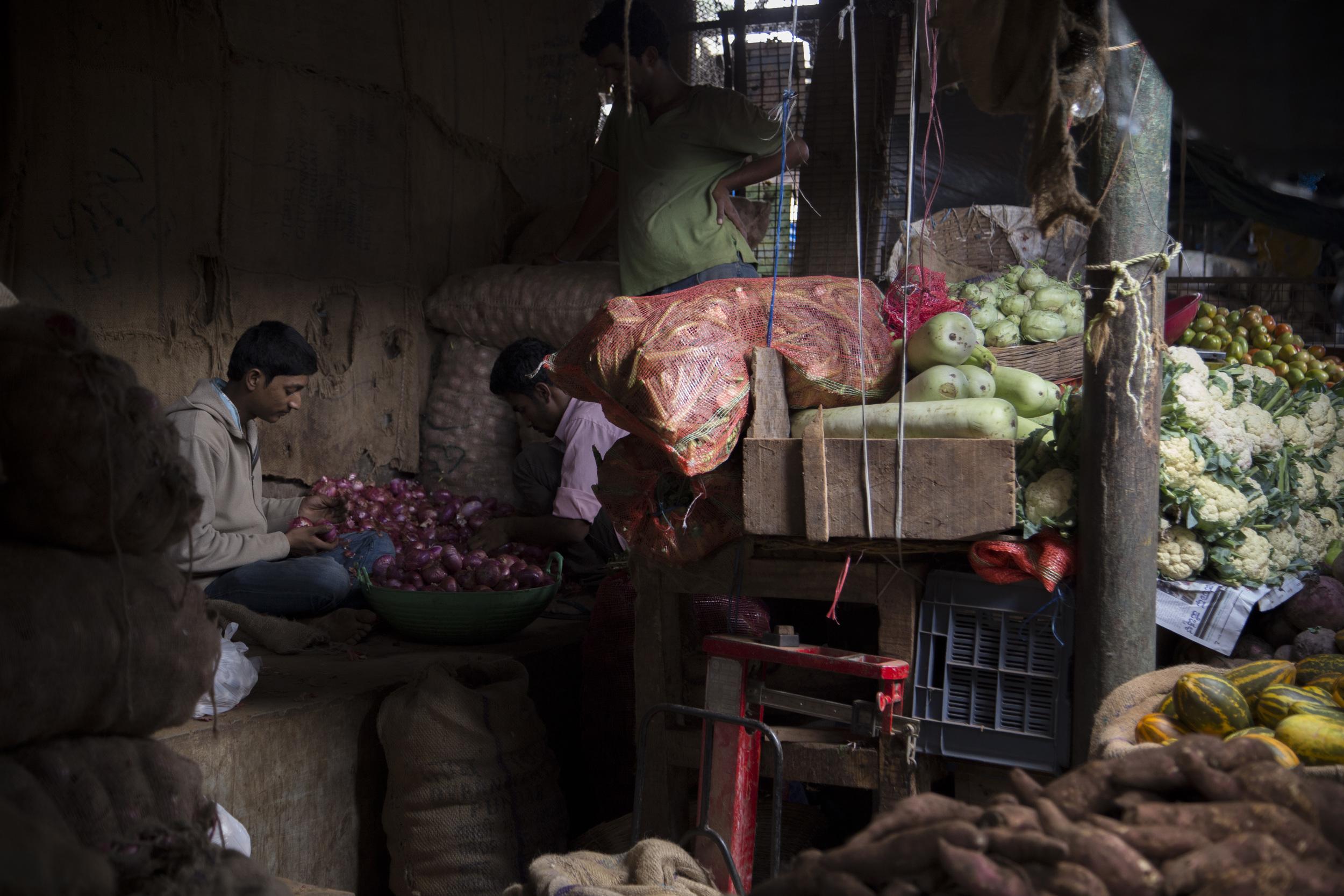 Devaraja Market, Mysore, India