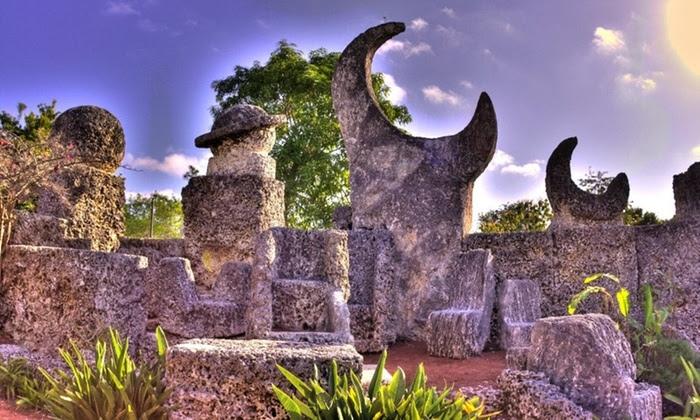 Image c/o Coral Castle Museum