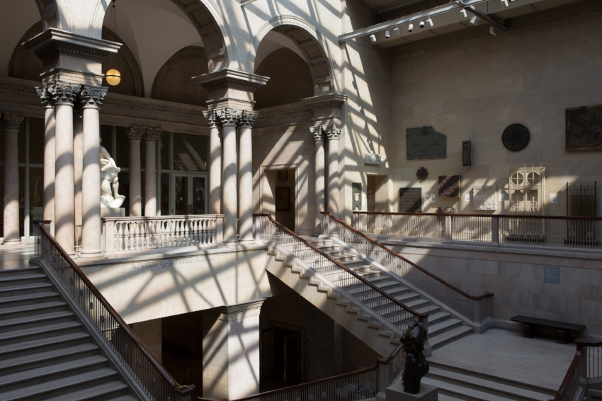 The Art Institute of Chicago. The Woman's Board Grand Staircase. Courtesy of the Art Institute of Chicago.