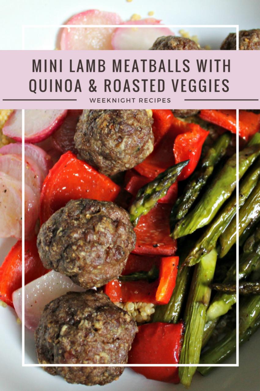 Weeknight Recipe - Mini Lamb Meatballs.png