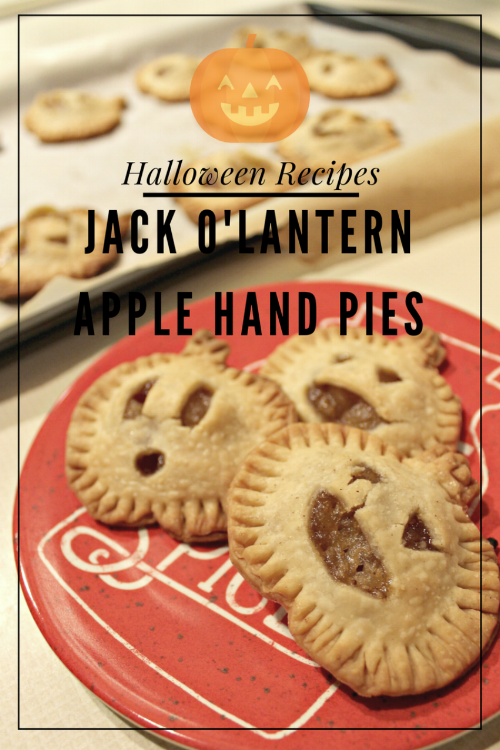 Jack o'Lantern Apple Hand Pies