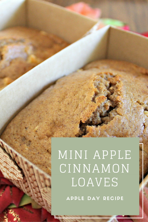 Mini Apple Cinnamon Loaves