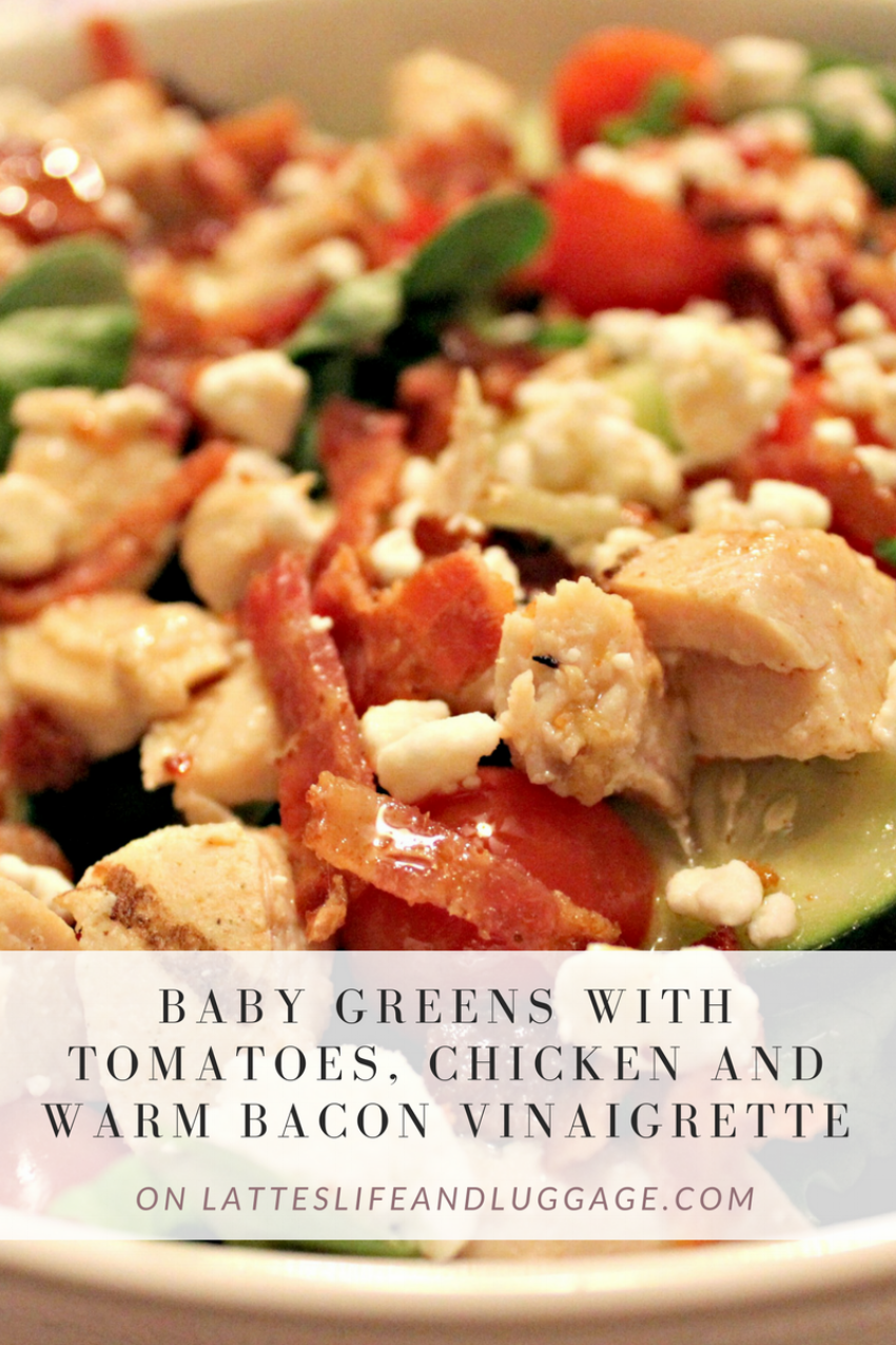 Baby Greens with Tomatoes, Chicken and Warm Bacon Vinaigrette.png