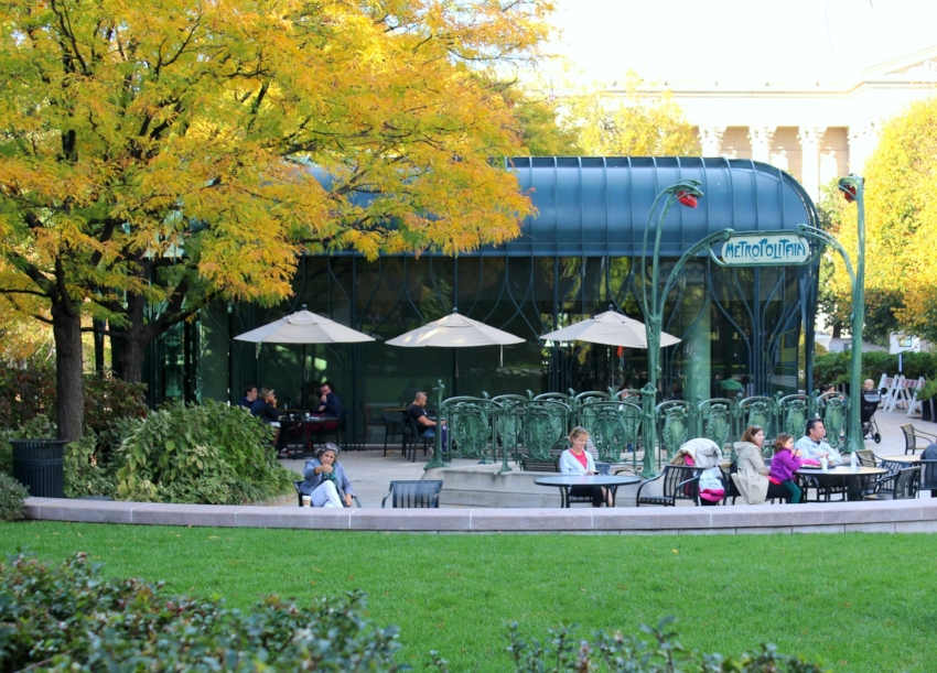 The Pavilion Cafe outside of the National Gallery of Art