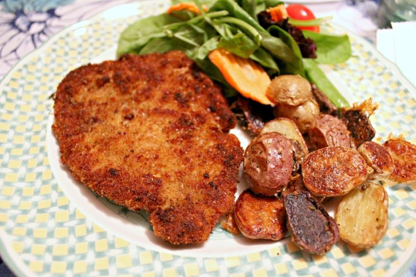 Pork Schnitzel with Parm Herb Potatoes 3.0.jpg