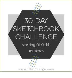 30 sketchbook challenge