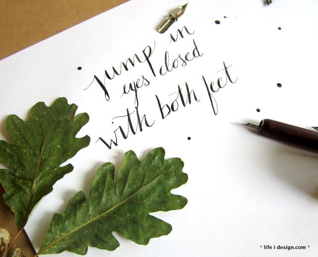 calligraphy by nicki