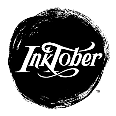 """Every October, artists all over the world take on the InkTober drawing challenge by doing one ink drawing a day the entire month. I created InkTober in 2009 as a challenge to improve my inking skills and develop positive drawing habits. It has since grown into a worldwide endeavor with thousands of artists taking on the challenge every year.""  Jake Parker"