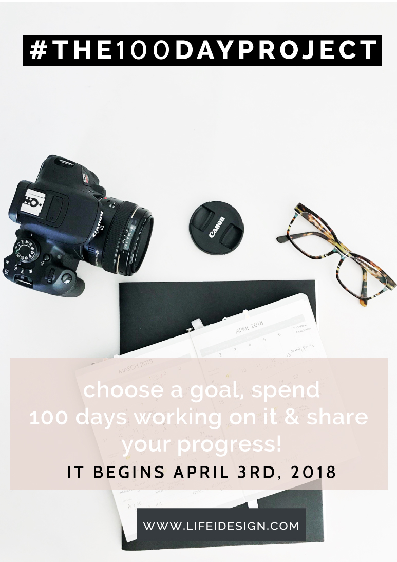 My #the100dayproject goal is to spend time over the 100 days exploring photography and capturing interesting subjects using my Canon Rebel and mastering shooting in manual mode.