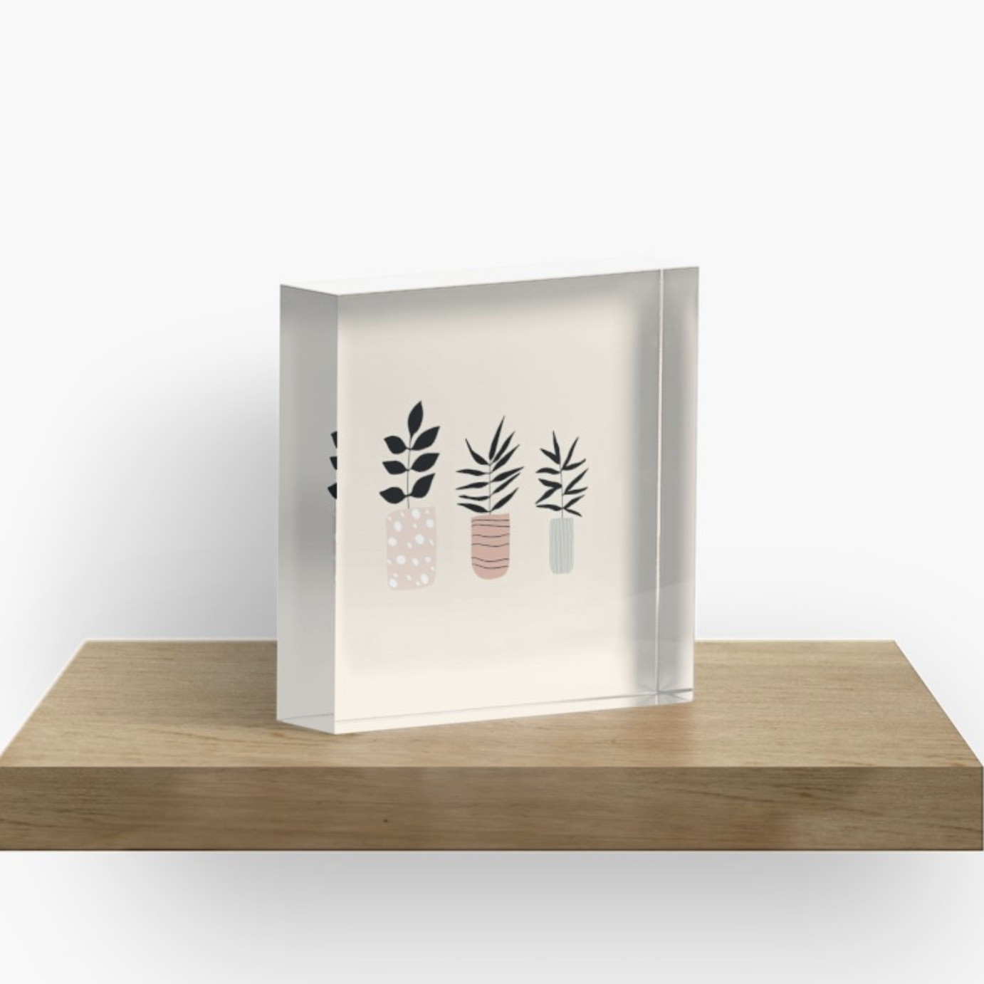 acrylic block with minimalistic plants.png