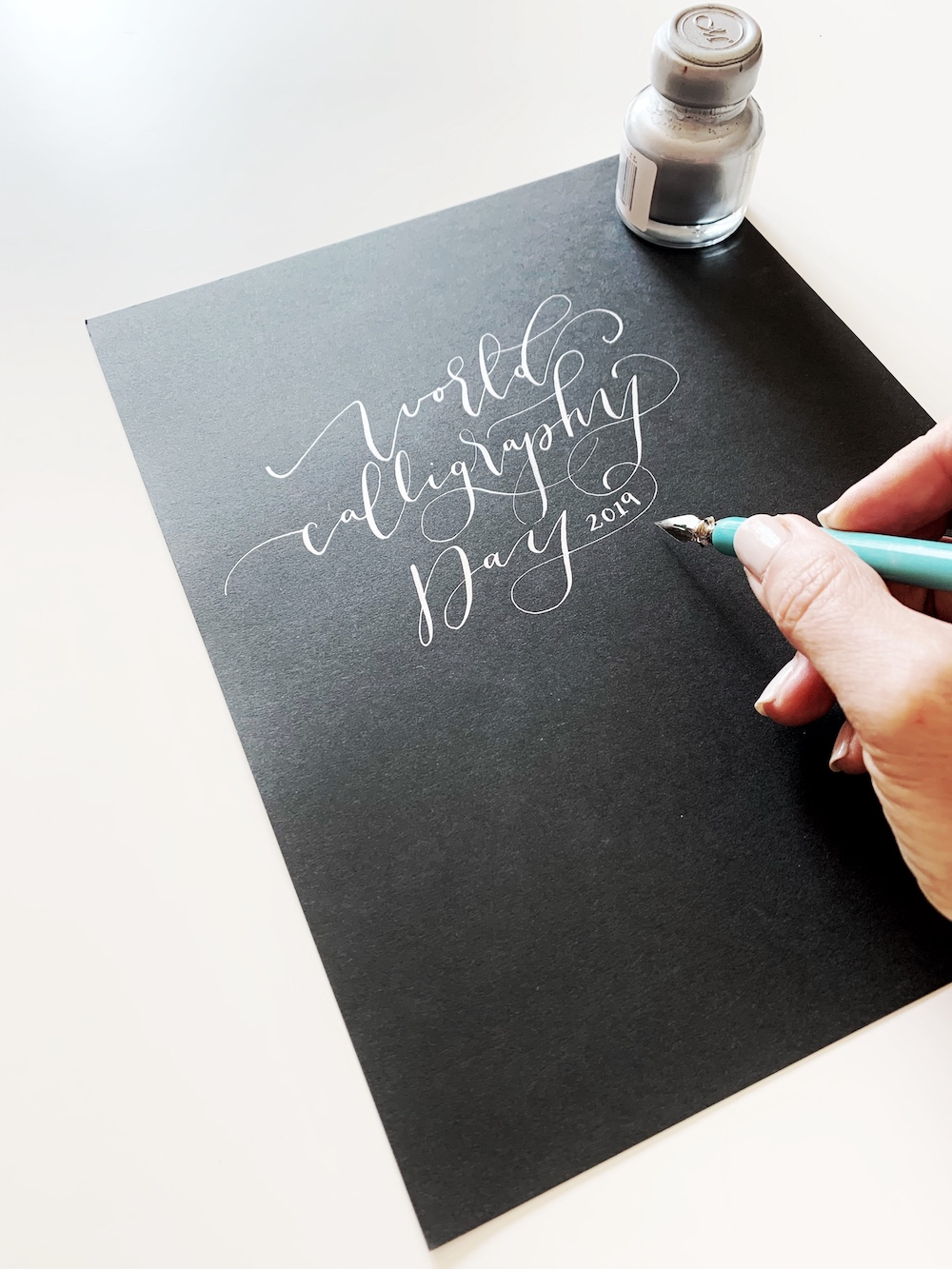A fun and meaningful contest for World Calligraphy Day 2019! #saysomethingspecial #worldcalligraphyday2019 with @lifeidesign and @manuscriptpenco