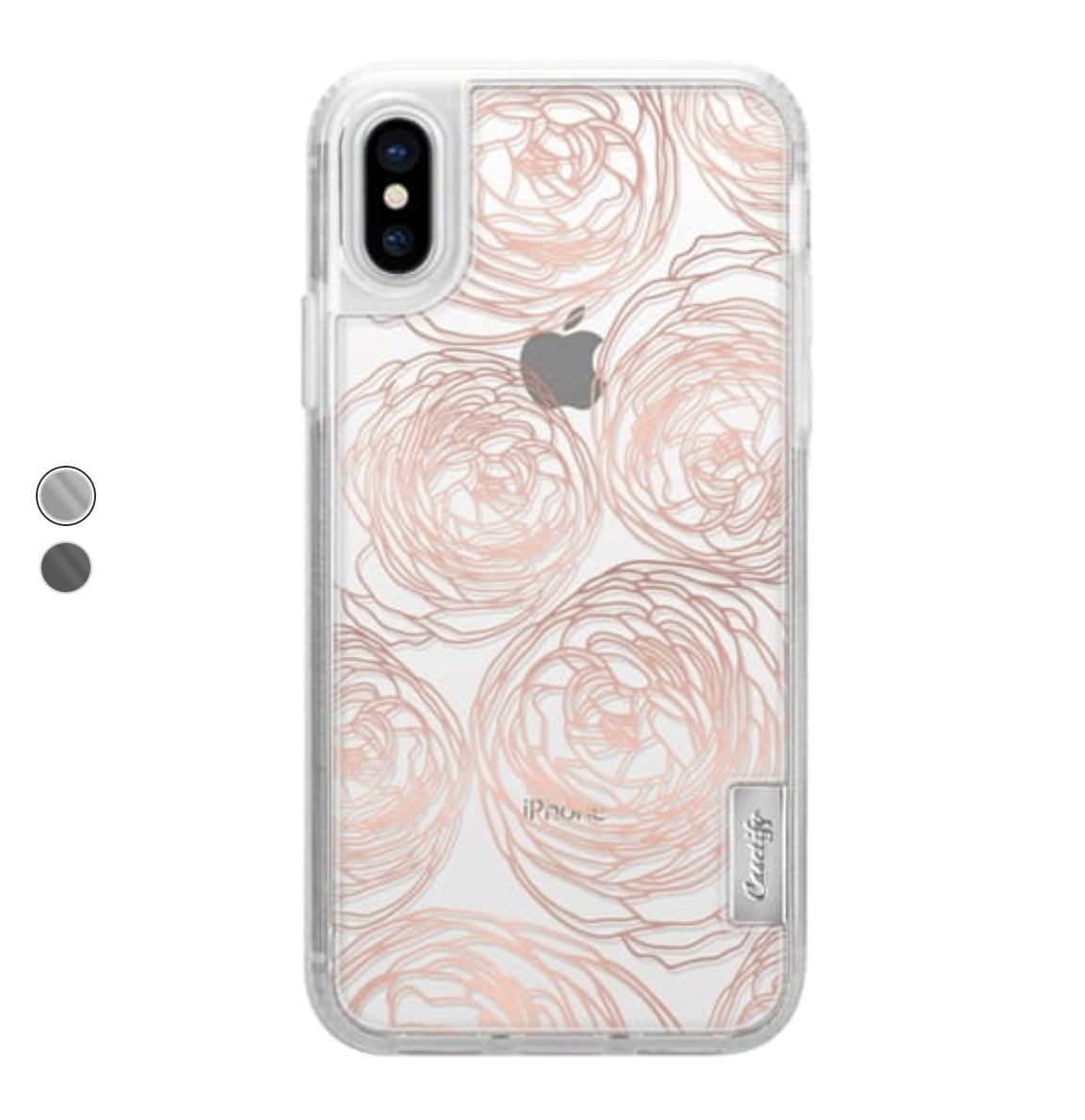 rose gold peony transparent case.png