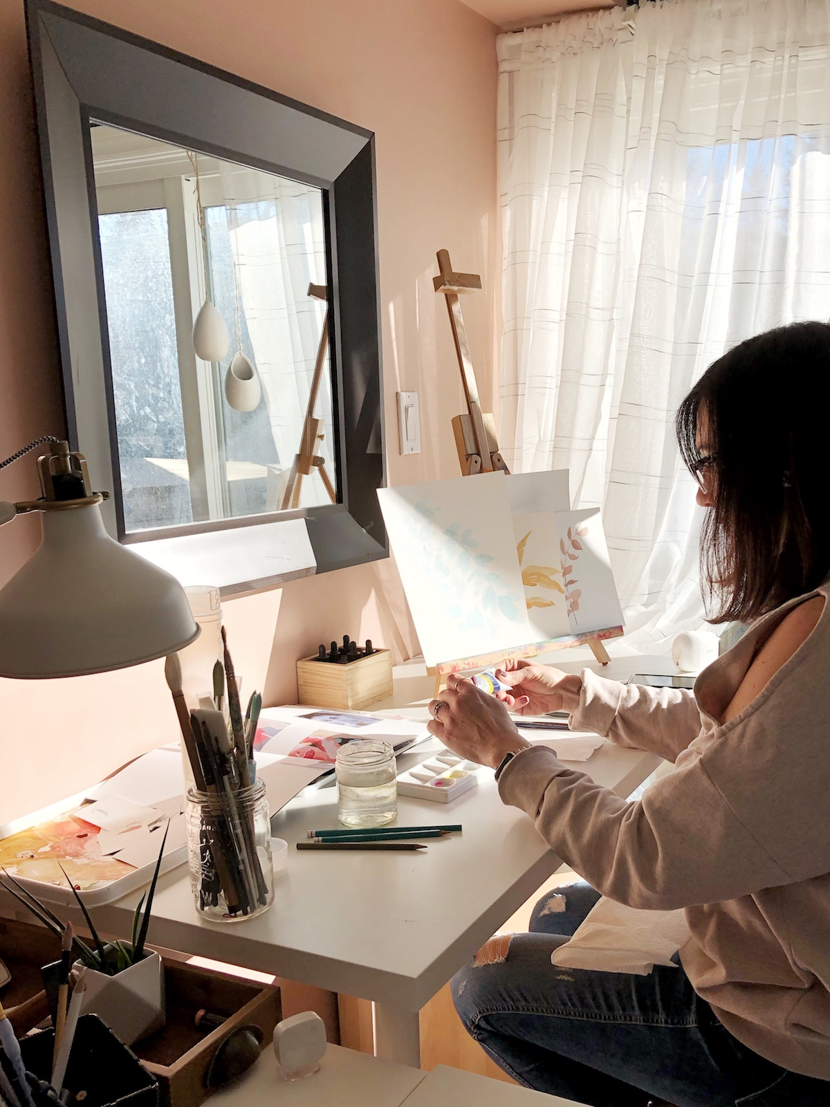 TIP 6 Wake up 30 minutes earlier 2-3 times a week to make art, practice lettering, or explore your creativity