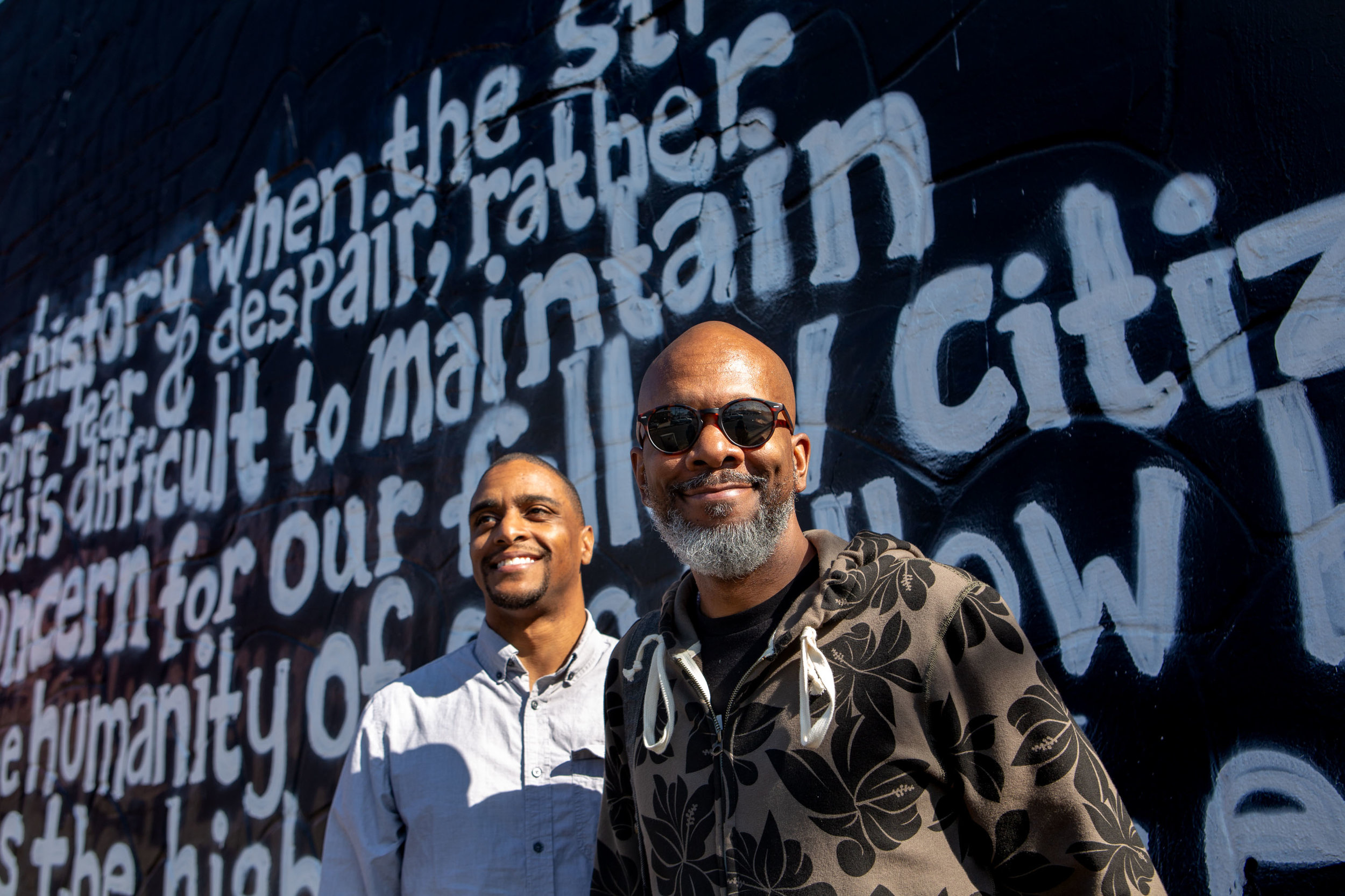 Micah Evans and J. Alan Love  |  Six Square nonprofit, Austin, Texas