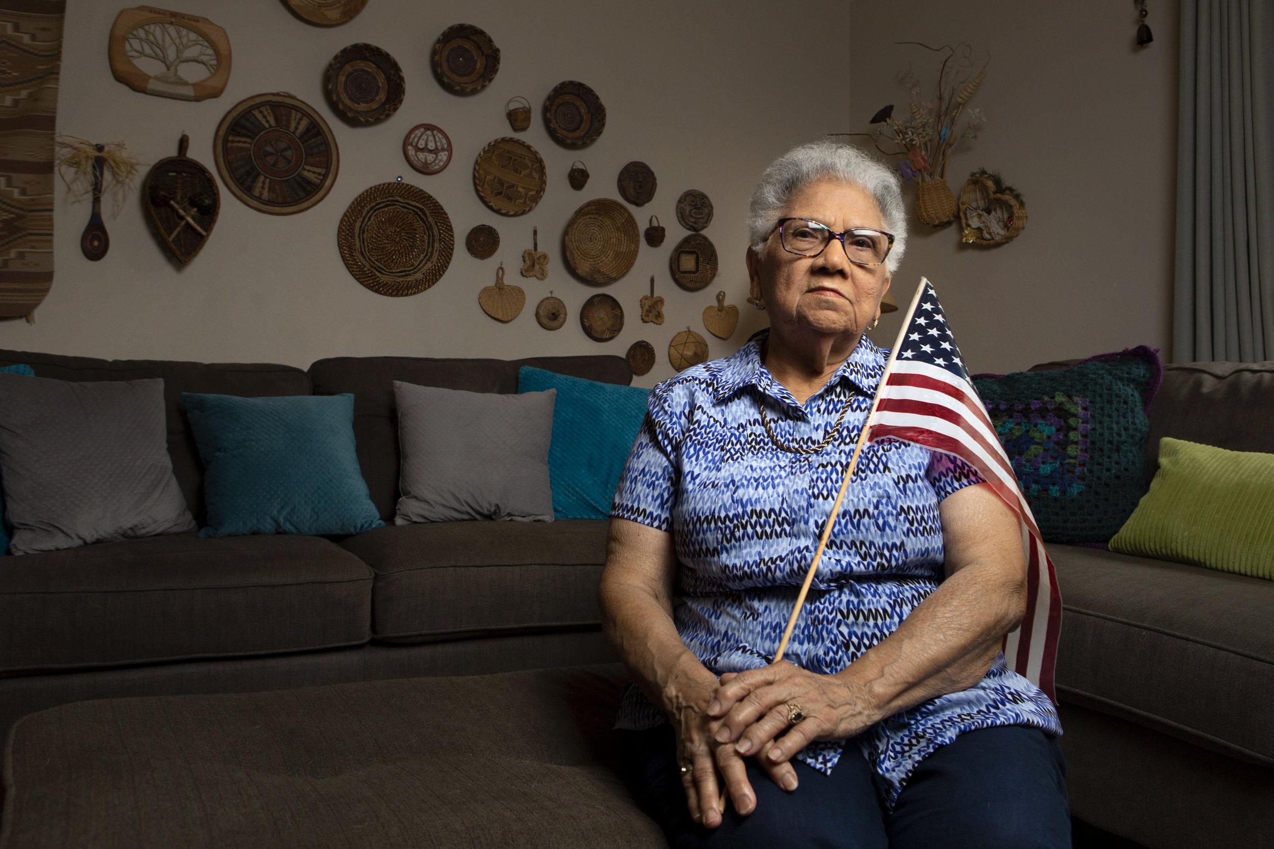 Ada Villafane    Puerto Rican activist, Austin, Texas