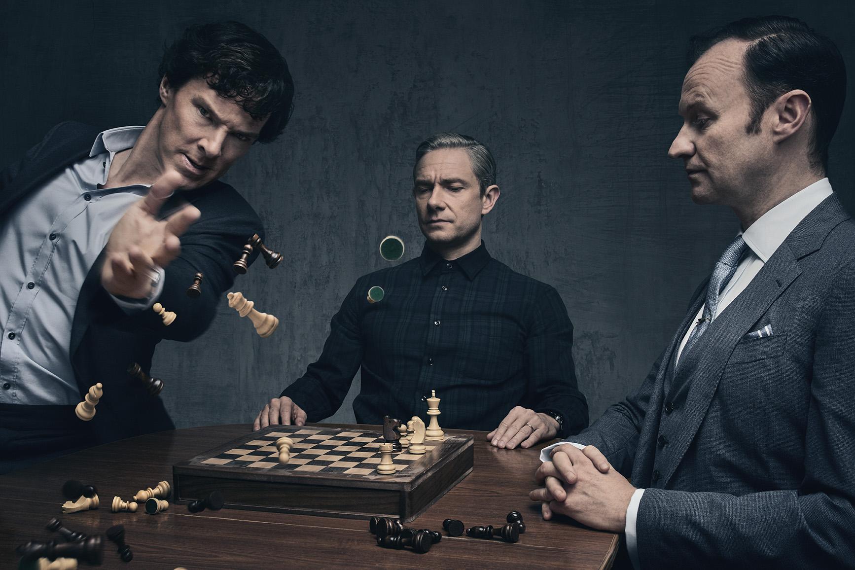 "TV Show ""Sherlock"" Editorial Portraits"