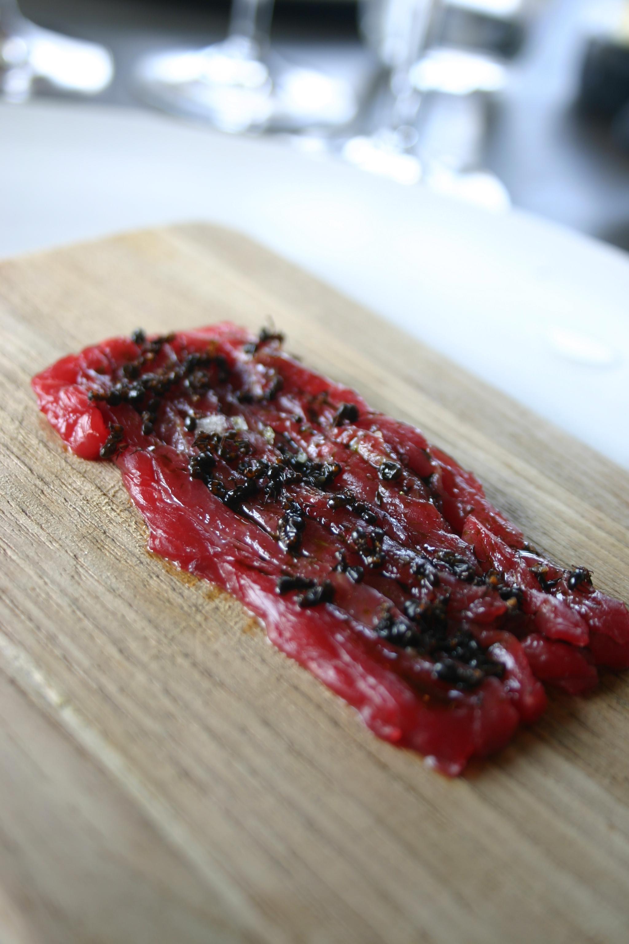 Noma'daki 'Et Tartar ve Karınca' tabağı