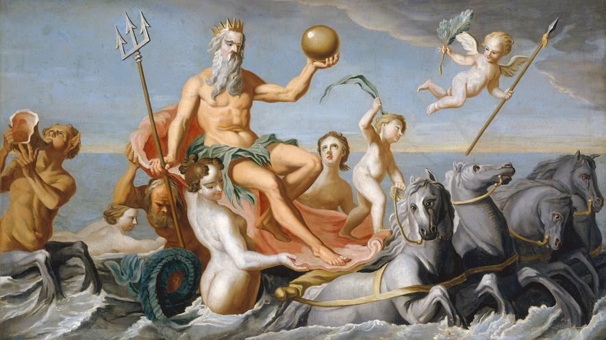 Poseidon Denizde, circa 1640