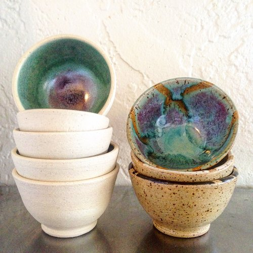 Stubborn Dog Pottery Bowls.JPG