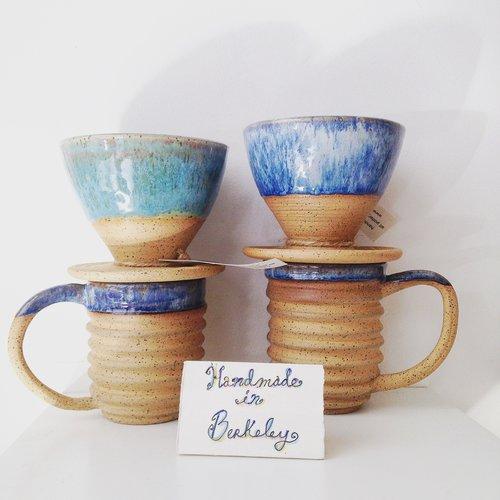 Stubborn Dog Pottery Mugs Coffee.JPG