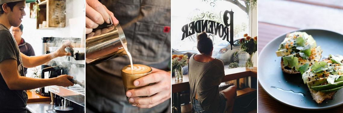 Provender Coffee + Food San Francisco California