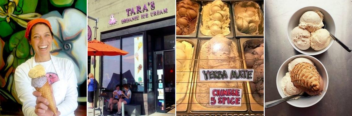 Taras Organic Ice Cream Berkeley California