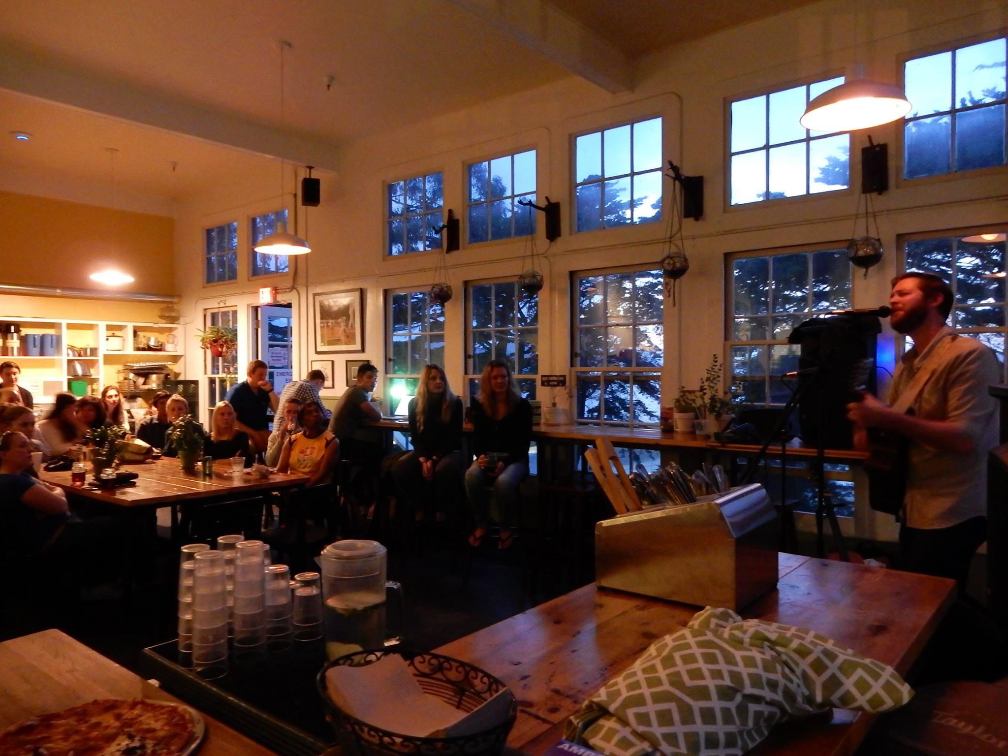HI Hostel Fisherman's Wharf San Francisco Cafe Franco Music Nights.jpg