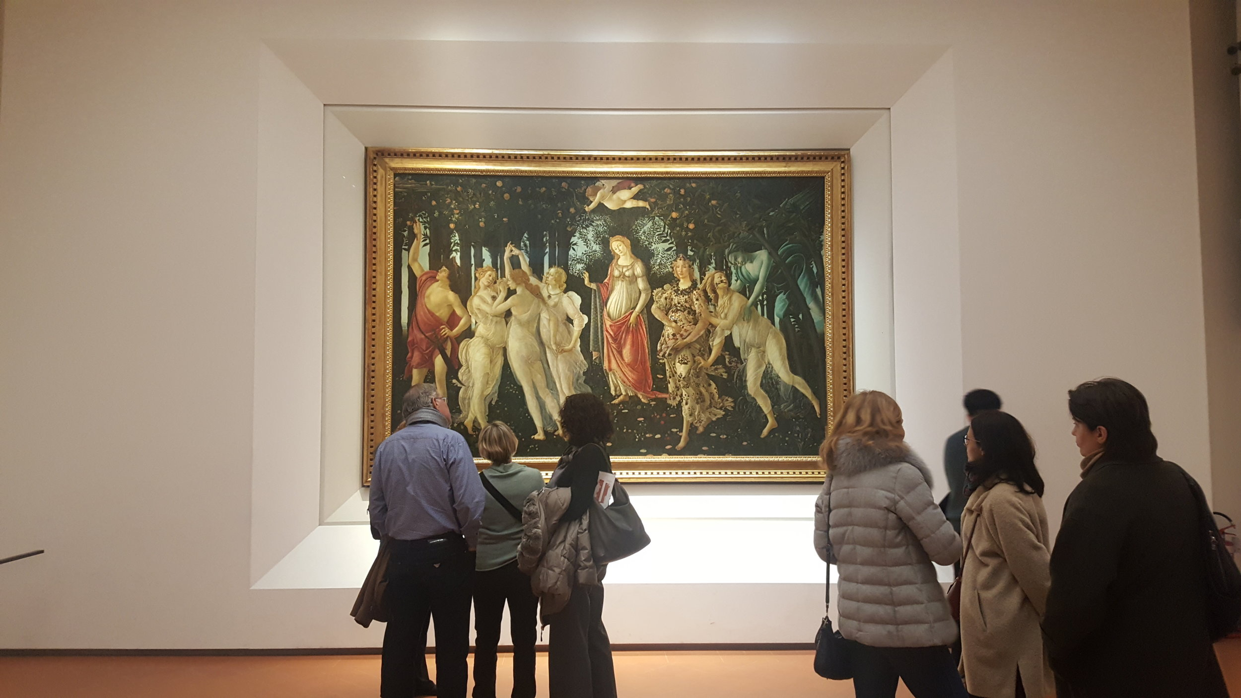 Uffizi Gallery, Florence photo by Louree Maya