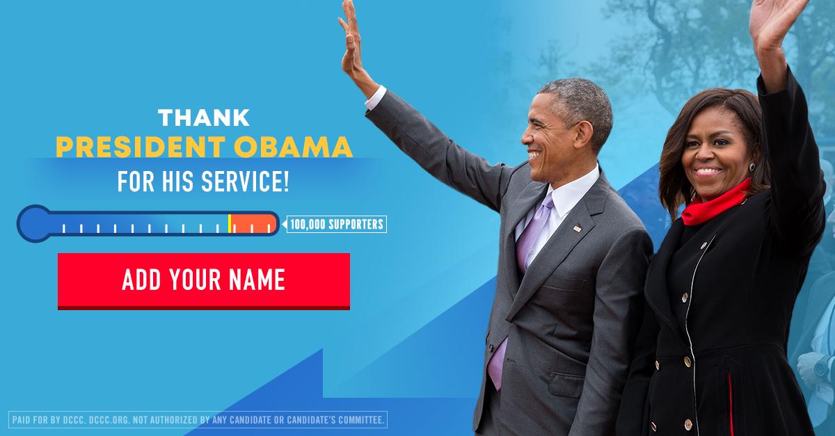 Client:  Democratic Congressional Campaign Committee  Designer:  John Robinson  Creative Director:  Amanda Gravely